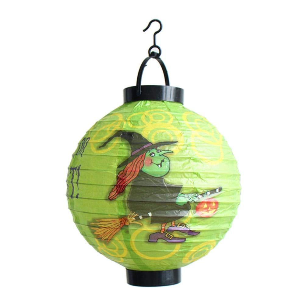 lotus.flower Halloween Paper Lantern,Halloween Features Paper Hanging For Party Decorations,Halloween,Mall,Hotel,Restaurant,Venue Layout (E)