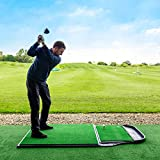 FORB Golf Hitting Mat Range - Launch Pads/Academy Practice Mat/Driving Range Hitting Mats [Net World Sports]