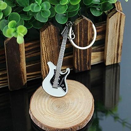 Odoukey Titular de la Clave de la Guitarra Llavero Gancho de la Pared de Montaje Holder Guitarra Simulaci/ón Estilo Amplificador Clave para la decoraci/ón del hogar