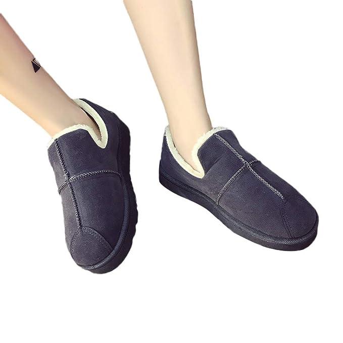 ZODOF Botas de Nieve para Mujer Botas para la Nieve Femeninas Botas de Pan de Estudiante Invierno cálido Dentro de Zapatos Welvet: Amazon.es: Ropa y ...