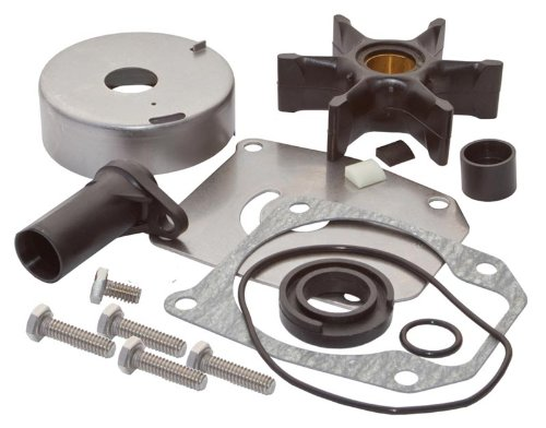 SEI MARINE PRODUCTS- Evinrude Johnson Water Pump Kit 40 45 50 55 60 65 70 75 HP 2 Stroke Wedge Key by SEI Marine Products