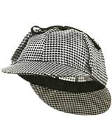 Jacobson Hat Company Men's Adult Sherlock Holmes Cotton Cap