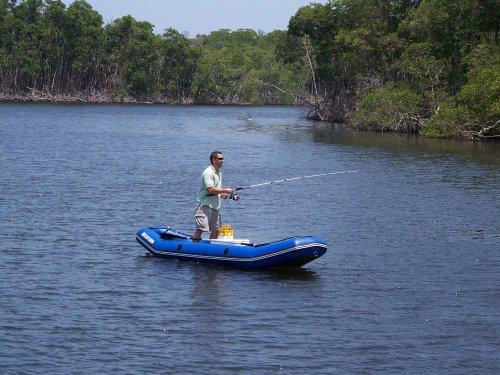 Saturn 12 Ft Light River Raft Ducky Boat Masterbasser