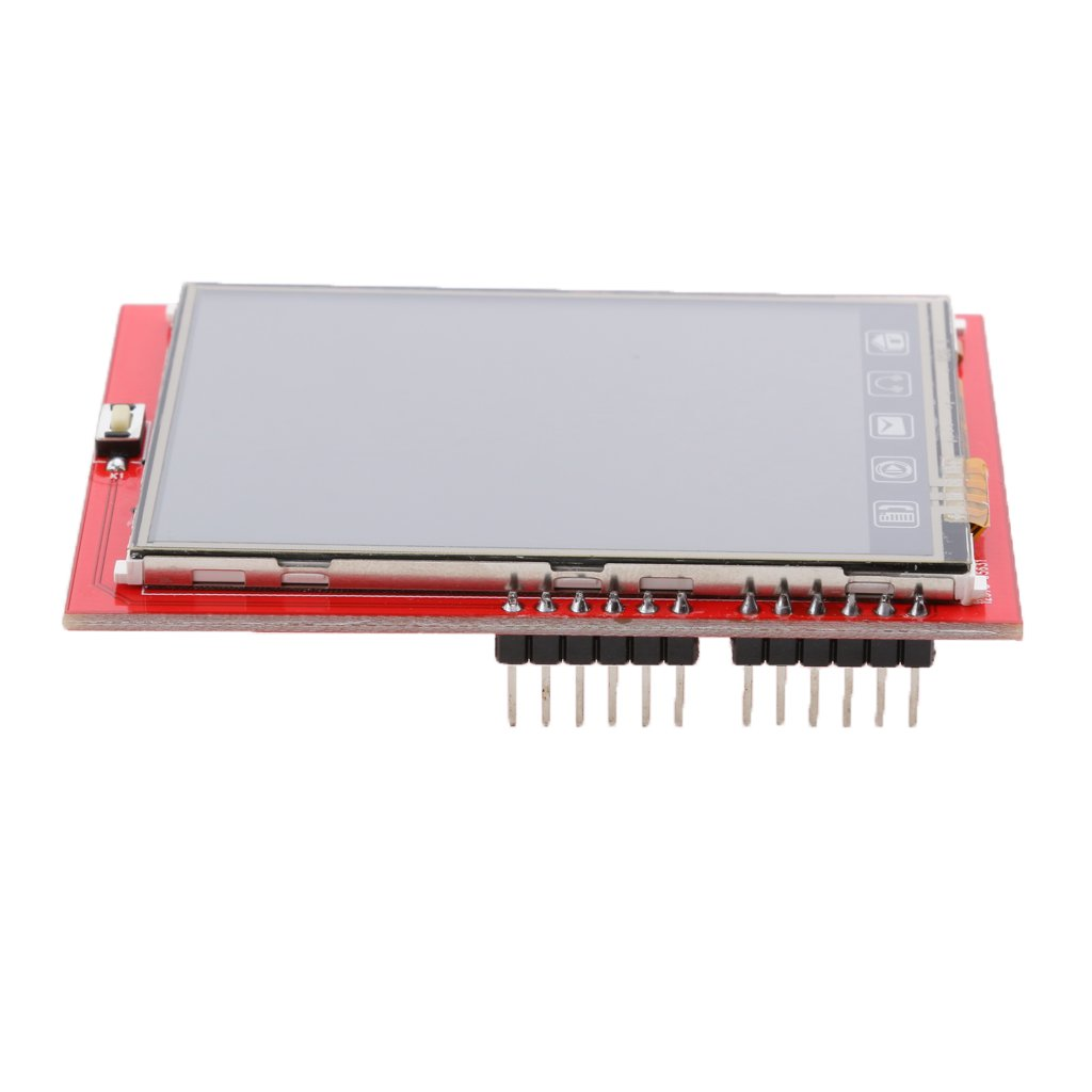 Gazechimp 2.4 TFT LCD Shield Socket Touch Panel Module Display for Arduino Mega 2560