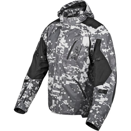 Speed & Strength Urge Overkill Textile Jacket , Gender: Mens/Unisex, Apparel Material: Textile, Primary Color: Urban Camo/Black, Size: XL 87-7455