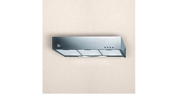 campana extractora para cocina aspirante/filtradora de pared 60 x 47 cm inoxidable cuadrada: Amazon.es: Grandes electrodomésticos