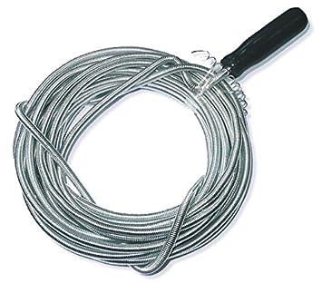 10m X 8mm Rohrreinigungswelle Flexible Spirale Abflussspirale Rohr