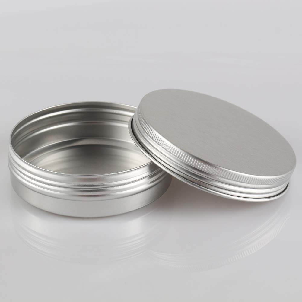 335639a072e4 Amazon.com: DLIBUY (Pack of 12) 100G/100ML Empty Aluminum Tins Cans ...