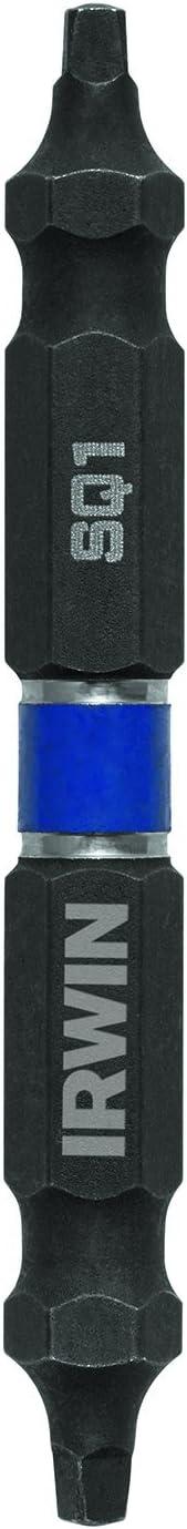 Irwin Tools Impact Performance Series–Juego de destornillador de puntas, 8–10con ranuras, 23/8-inch longitud, 2-pack (1899976)