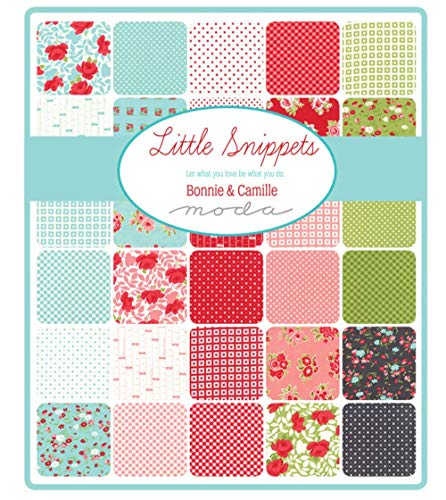 Little Snippets 40 Fat Quarter Bundle by Bonnie & Camille for Moda Fabrics 55180AB by Moda Fabrics (Image #1)