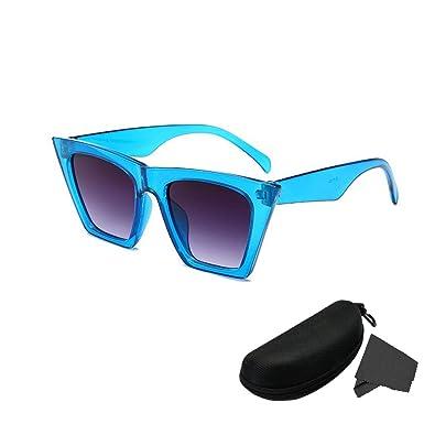 LYworld Gafas De Sol Polarizadas Retro Gafas de sol para Hombre y Mujer Reflexivo Espejo Anteojos Unisex Sunglasses Gafas de moda de sombrilla de ...