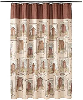 Saturday Knight Outhouses Shower Curtain