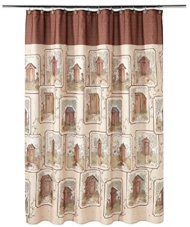 Lovely Saturday Knight Outhouses Shower Curtain On Outhouse Shower Curtain