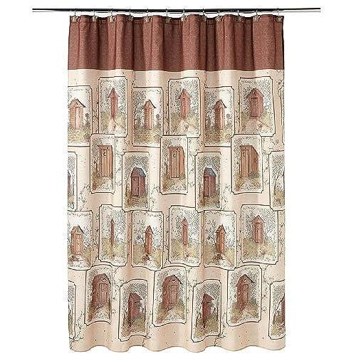 Country Bathroom Shower Curtains: Amazon.com