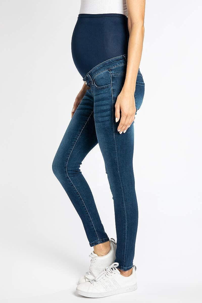 Kancan Holland Rose Maternity Stretch Waist Band Jeans Skinny Women Clothing Shoes Jewelry Vit Edu Au