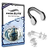 Redefine your SWIMMING EXPERIENCE. COOL THE POOL with Swim Elite. Swim Elite completes its collection of Premium Water Gear with THE PREMIUM NOSE CLIP & EARPLUGS BUNDLE, especially designed to meet your needs and expectations. Just like all of ou...