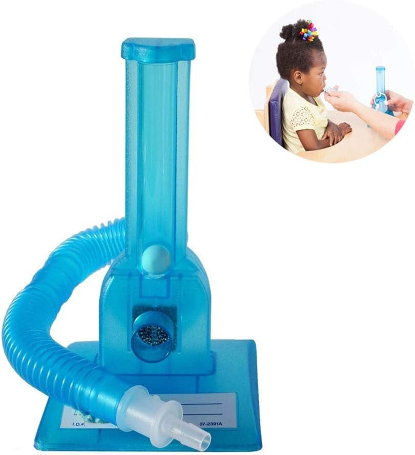WSN Dispositivo para Entrenamiento de la respiración del Habla Boca del músculo del espirómetro niños Herramienta de formación Herramienta de formación espirometría