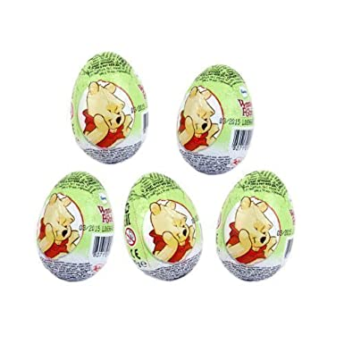 Winnie The Pooh Chocolate Con Leche Sorpresa Huevo - Zaini Disney [Pack de 5]: Amazon.es: Alimentación y bebidas