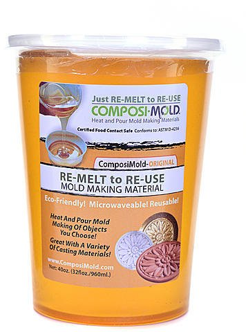 ComposiMold RE-MELT to RE-USE Mold Making Material - Original 1 pcs sku# 1874621MA