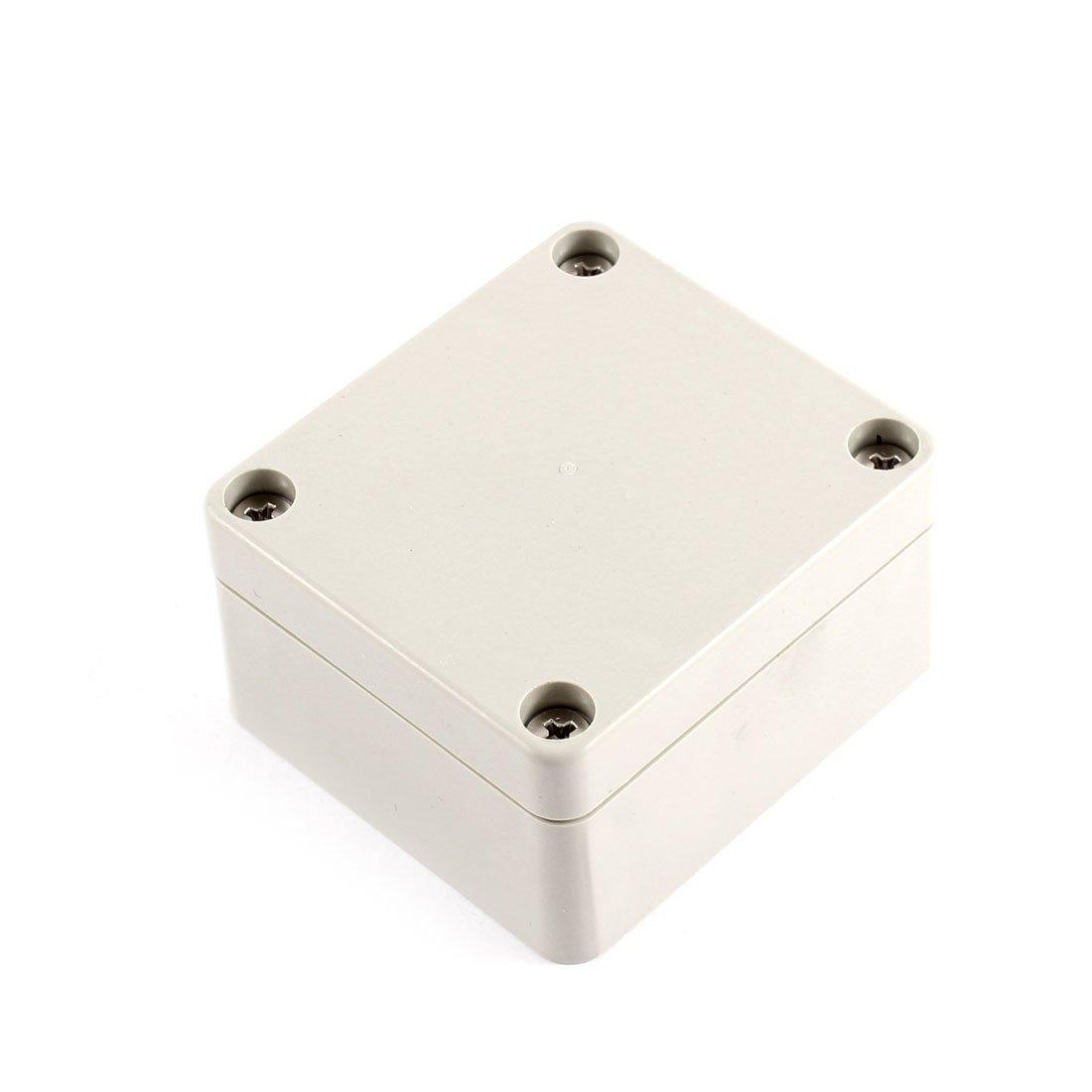 Sourcingmap® 63x 58x 35mm Plastique étanche boîtier Coque Petit projet de boîte a15071600ux0698