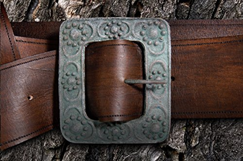 Jack Sparrow Belt & Flower Buckle by Jack Sparrow Collection by Anthony Zarrillo