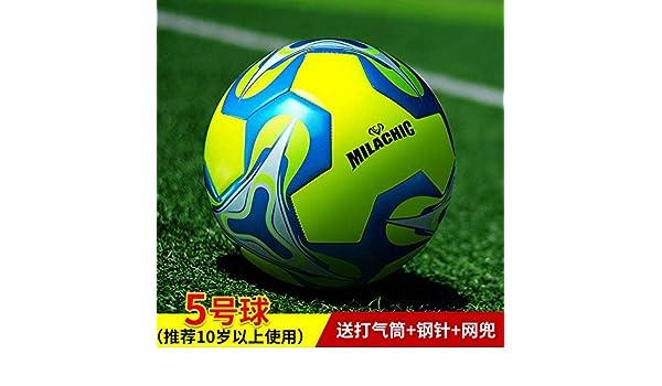 zuq - Balón de fútbol 5 Adultos 4 Niños Primaria Escuela ...