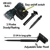 DeVida Solar String Lights 120 Warm White LED, Easy
