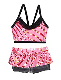 Arshiner Girls Bikini Two Piece Swimsuit with Lace Swimwear