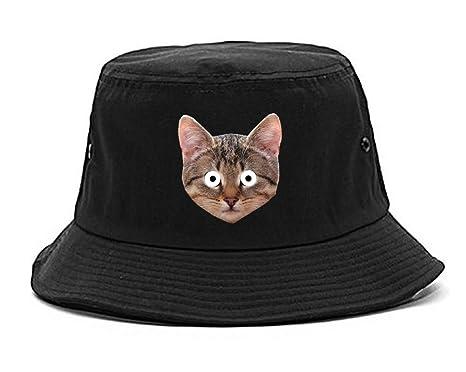 e1c1bc9cca4fd Amazon.com  Kings Of NY Cats Crazy Odd Kittens Funny Bucket Hat ...