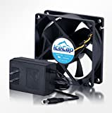 CoralVue Aquarium Cooler Smart Fan - 4'' Variable Speed