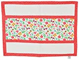 Yogis Baby Organic Changing Mat (White And Red)