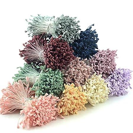 Amazon.com: ARISLUX Flores de estampado – 350 piezas 0.197 ...
