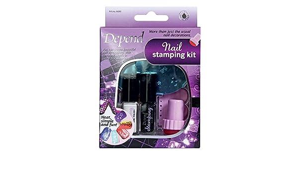 depend nail stamping kit