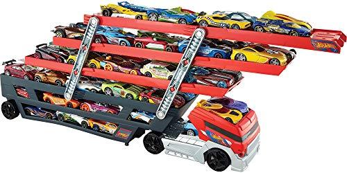 51iOy442hCL Un gran camión para vivir aventuras Este transportador masivo puede cargar más de 50 coches Seis niveles expansibles