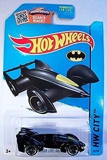 Hot Wheels, 2015 HW City, Batman Live! Batmobile [Black] Die-Cast Vehicle #65/250