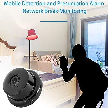 1080P Mini C/ámara Inal/ámbrica WiFi IP HD C/ámara Esp/ía Interior Inteligente C/ámara de Seguridad para Hogar con Visi/ón Nocturna Detecci/ón de Movimiento