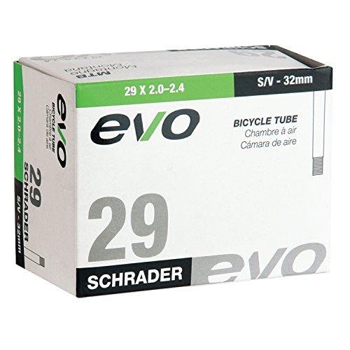 EVO Bicycle Tube - 29 x 2.0/2.4-32mm Shrader Valve (29 x 2.0/2.4-32mm Shrader Valve) ()