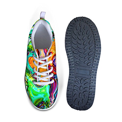 Bigcardesigns Toning Walking Fitness Women's 1 High Shoes Platform Style UfwrSUa