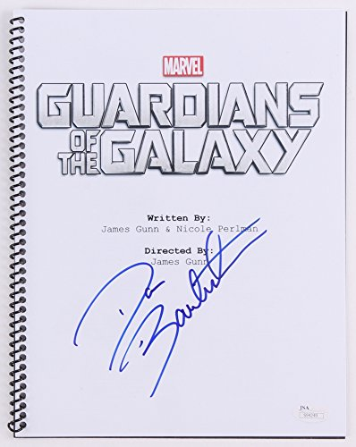 "Dave Bautista Signed ""Guardians of the Galaxy"" Full Length Script (JSA COA)"