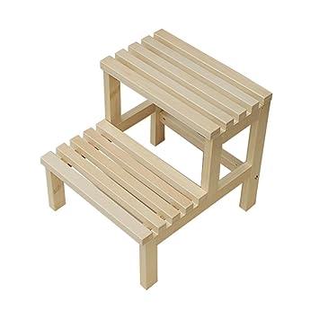 Strange Amazon Com Ladders Wooden Wooden Bench Step Stool Wash Ncnpc Chair Design For Home Ncnpcorg