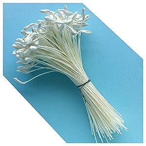 Medium Lily & Peony Flower Stamens (White) 31