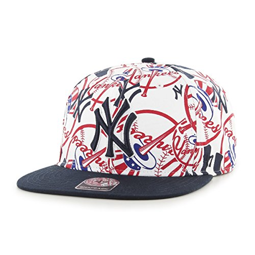 '47 Brand MLB New York Yankees Bravado Captain Adjustable Snapback Hat, One...