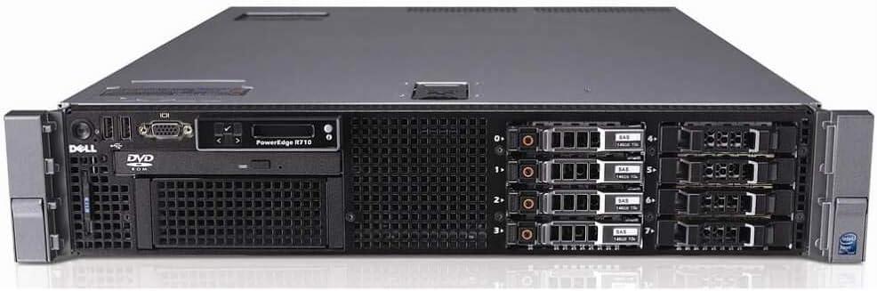 Dell PowerEdge R710 2.5 Server 2x X5570 2.93GHz Quad Core PERC6 Build Your Own