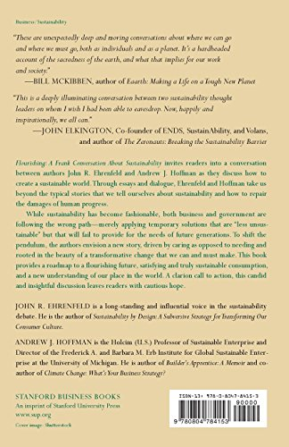 Flourishing: A Frank Conversation About Sustainability by Brand: Stanford Business Books (Image #1)