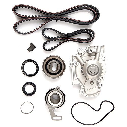 ECCPP Timing Belt Water Pump Kit Fit for 1990-1997 Honda Accord Odyssey Prelude Isuzu Oasis 2.2L Engine F22A1 F22A4 F22A6 F22B2 F22B6 L4 SOHC 16 Valve