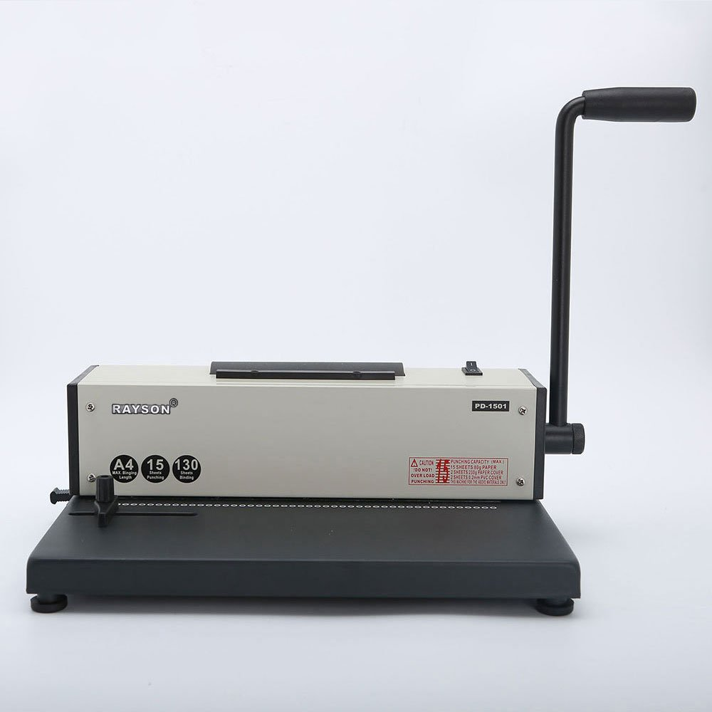 Rayson PD-1501 Coil Binding Machine with Electric Coil Inserter