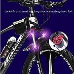 WSJ-Mountain-Bike-275-Pollici-Ruote-a-3-Razze-Forcella-Anteriore-bloccabile-Bicicletta-Fuoristrada-Doppio-Freno-a-Disco-4-velocit-Disponibili-per-Uomo-Donna