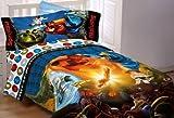 Lego Ninjago Ninja Masters Twin Comforter (Kitchen)