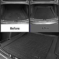 Regalo + Limpiador de Plasticos Desde 2017 Cubre Maletero de PVC Compatible con Seat Arona con Suelo bajo