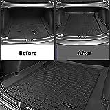 FOONEE Car Trunk Mat for Tesla Model 3,Cargo Tray Trunk Floor Protector Mat,Custom Design Cargo Liner Rear Waterproof Pad, All Weather - Heavy Duty